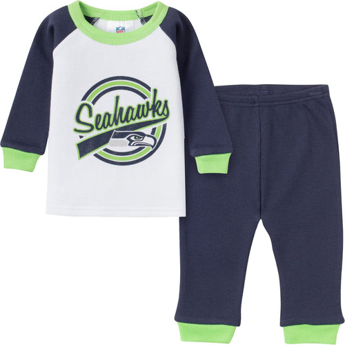 Seahawks 2 Pc Thermal PJs