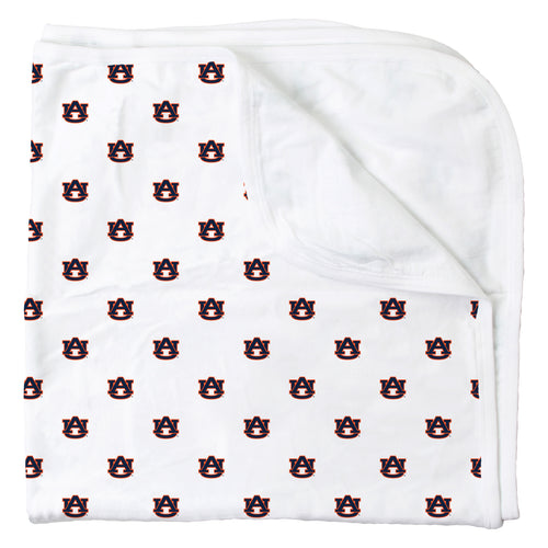 Auburn All Over Print Logo Blanket