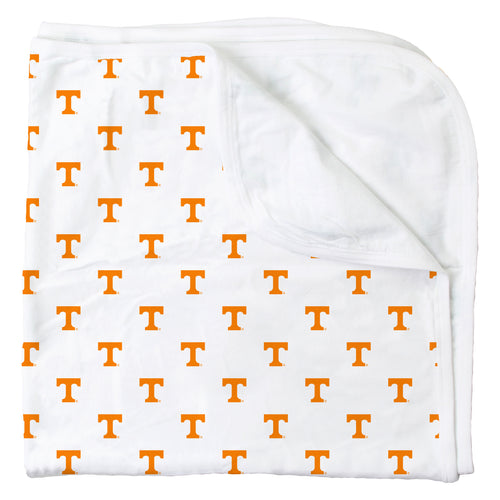 Tennessee All Over Print Logo Blanket