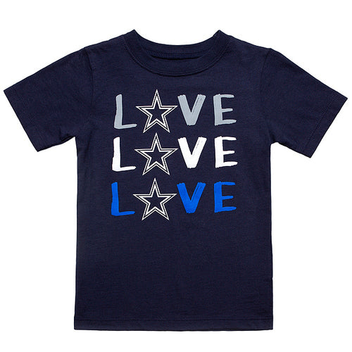 "Cowboys Girls ""Love"" Short Sleeve Tee"