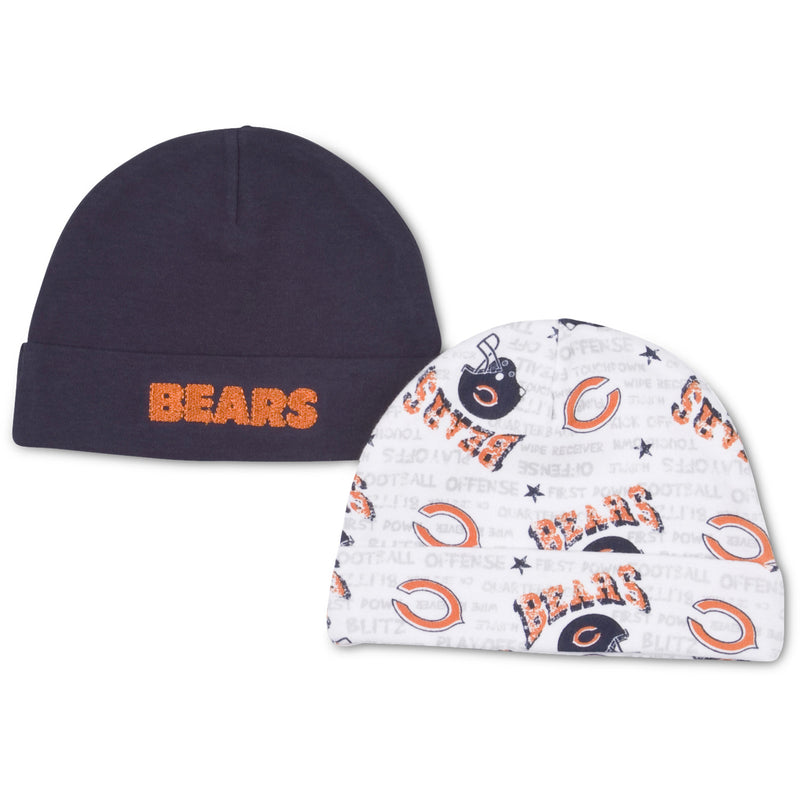 Chicago Bears Newborn Knit Hats