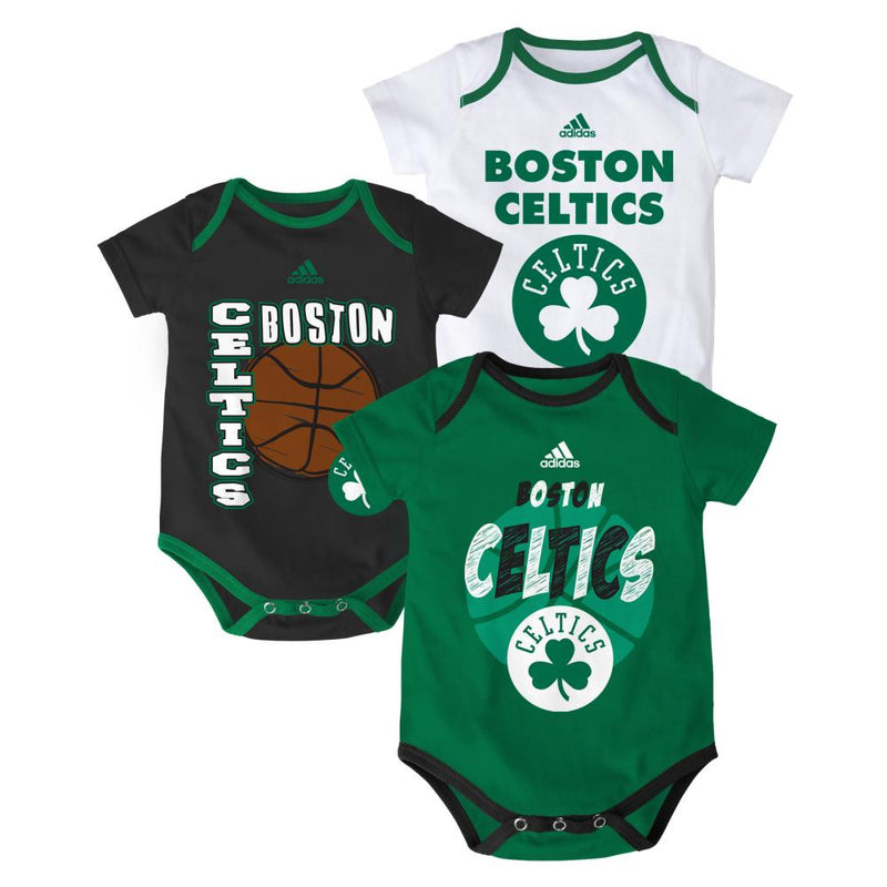 Celtics Basketball Onesie 3-Pack