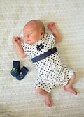 Notre Dame Baby Girl Outfit