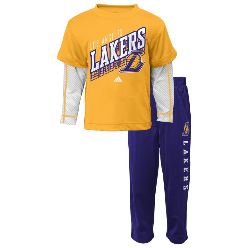 Lakers Toddler Outfit