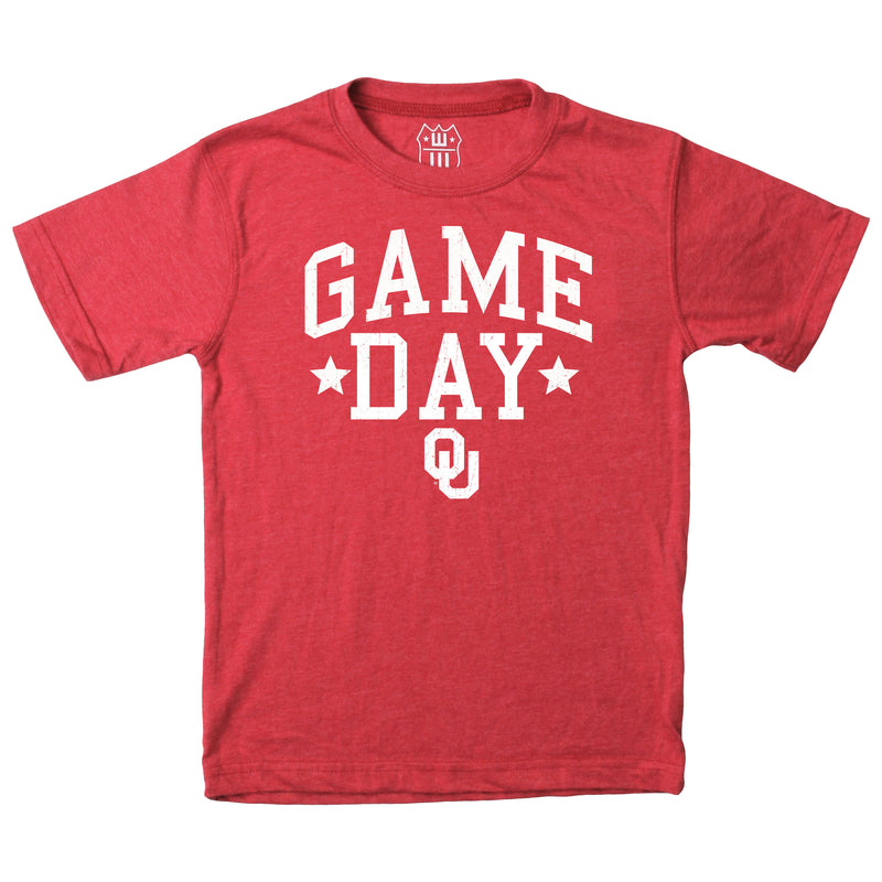 Oklahoma Toddler Game Day Tee