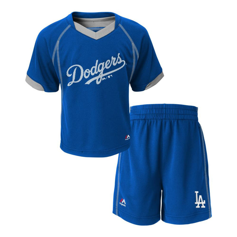 Dodgers Baby Performance Short Set