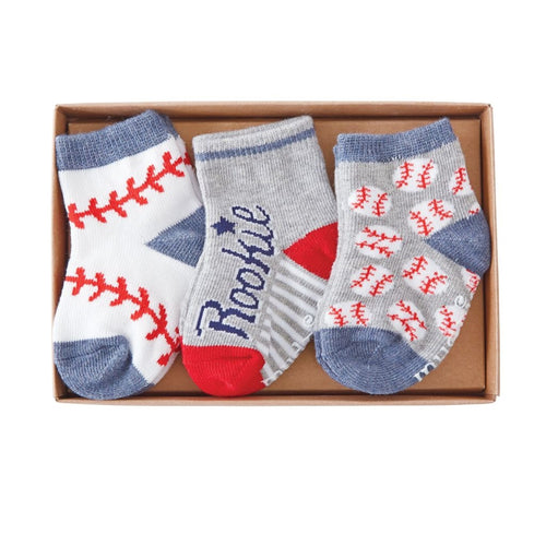 My First Baseball Season Sock Set