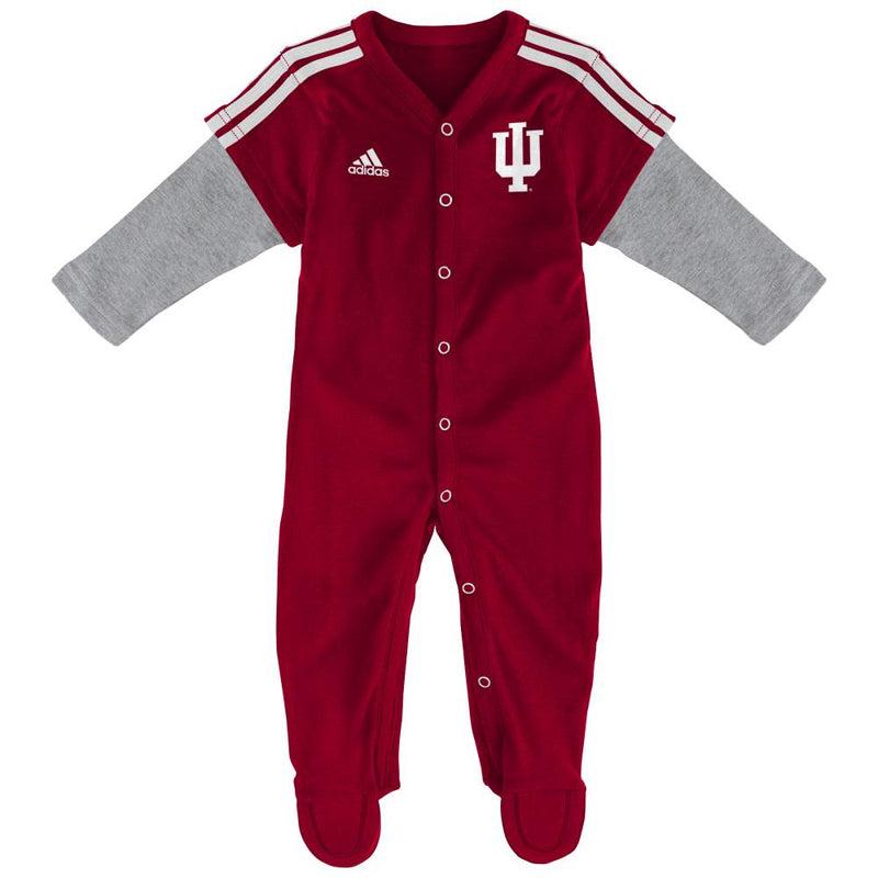 Indiana Infant Layered Sleeve Jersey Coverall