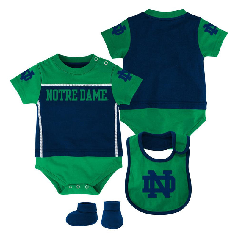 ND Fighting Irish Baby Outfit