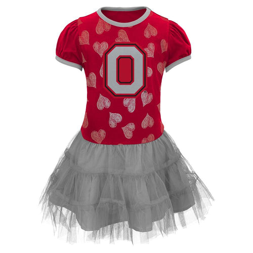 Ohio State Toddler Dress