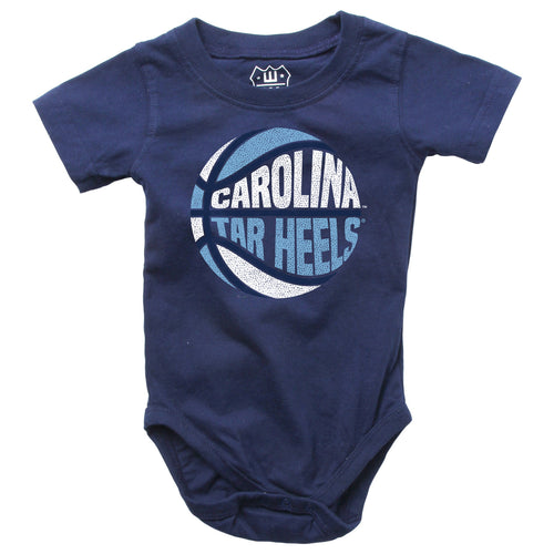 UNC Tarheels Basketball Baby Bodysuit