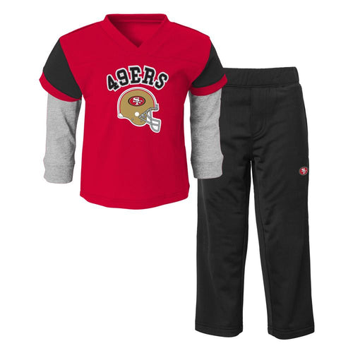 49ers Infant/Toddler Jersey Style Pant Set