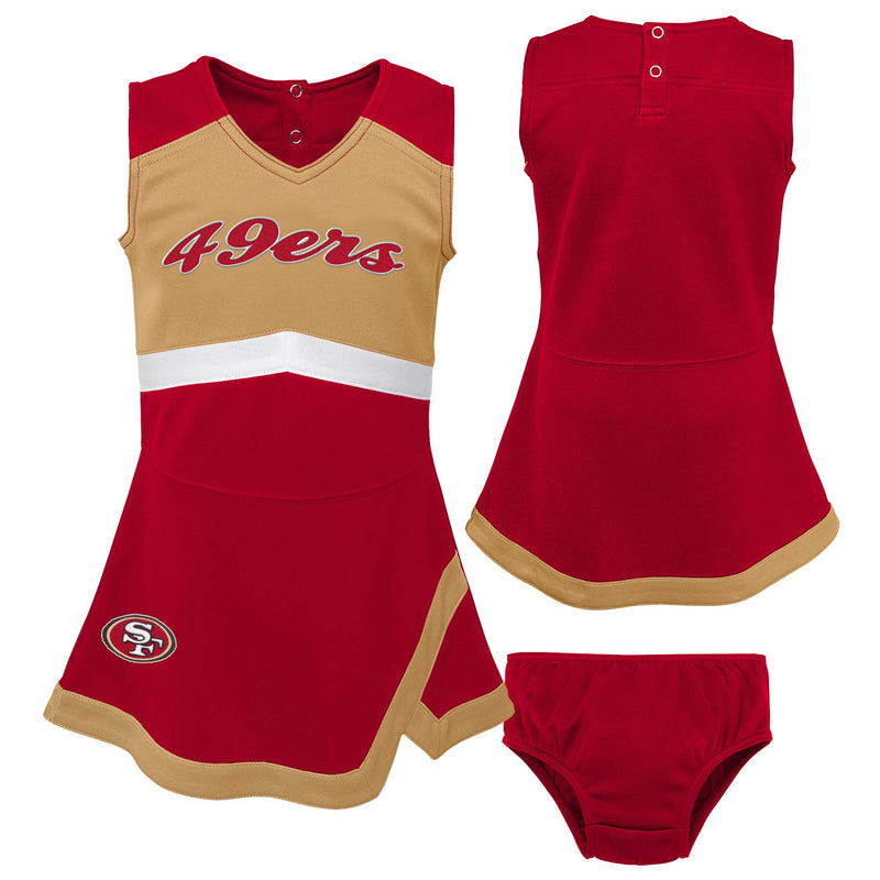 San Francisco 49ers Infant Cheer Dress
