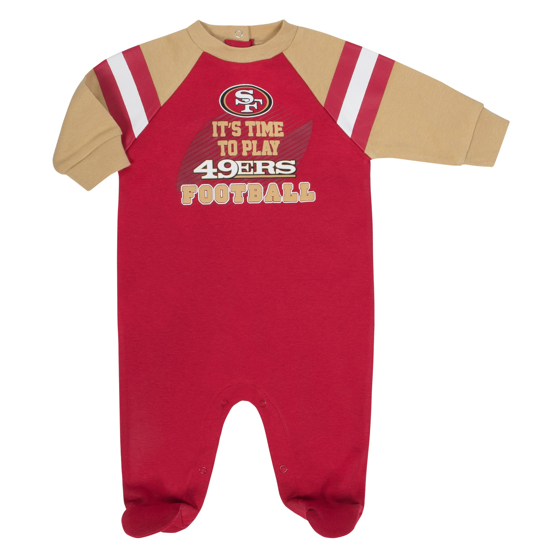 358cb903d8a 49ers Baby Football Sleep N Play – babyfans