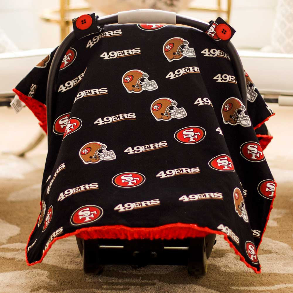 San Francisco 49ers Car Seat Canopy