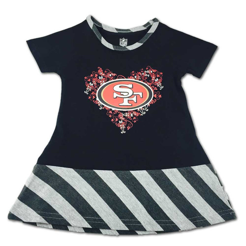 49ers & Butterflies Dress