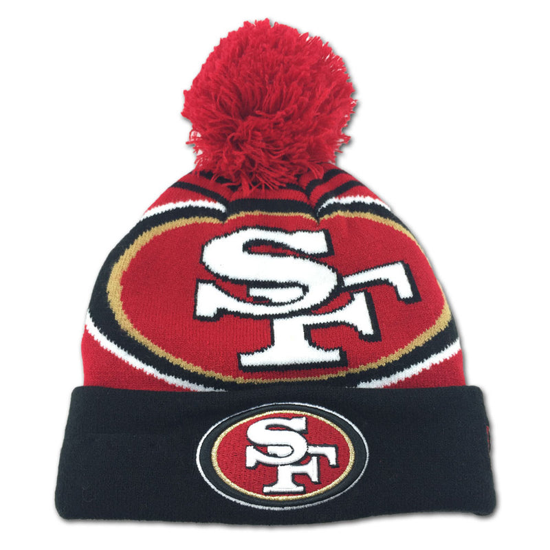 49ers Toddler Chilly Day Hat