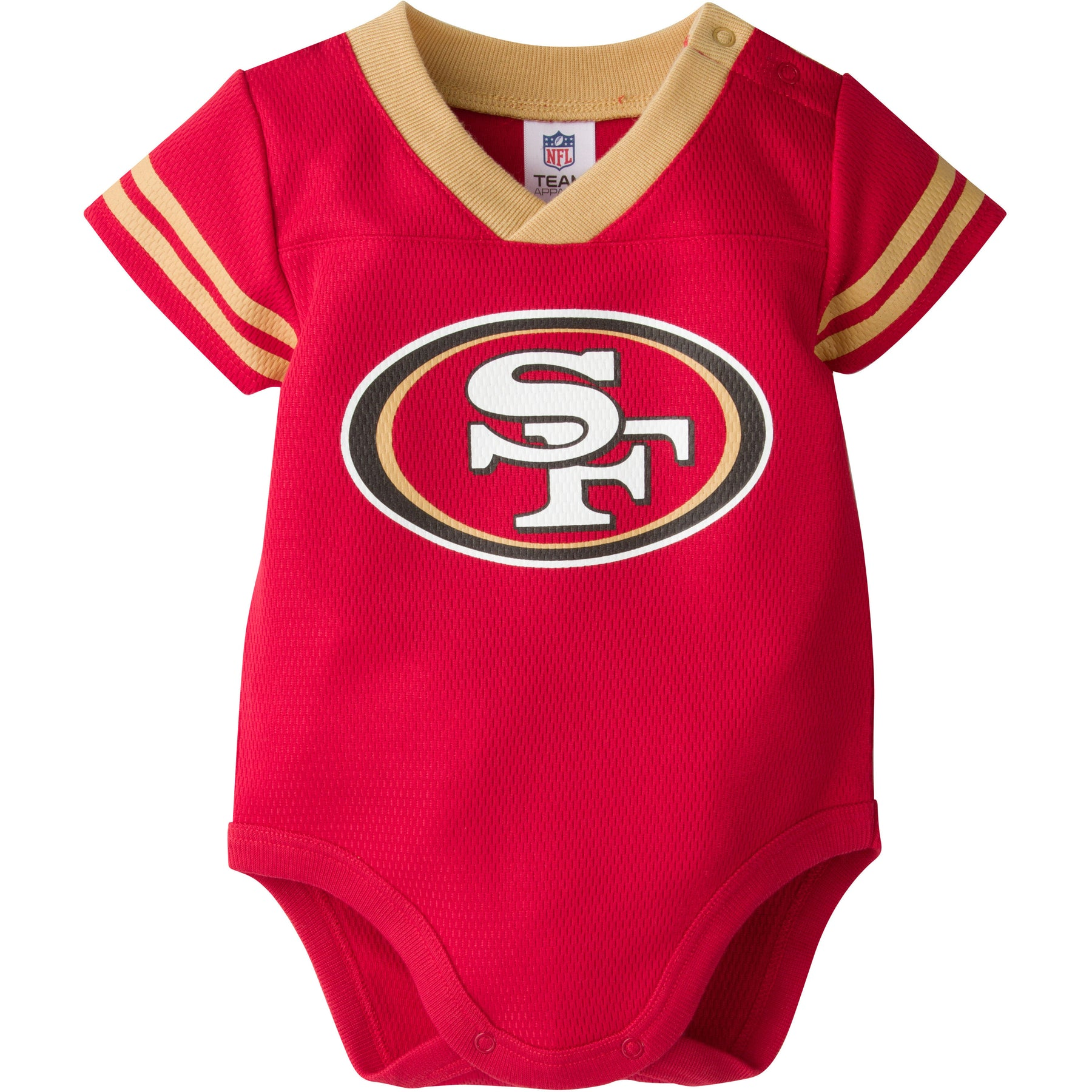 Baby 49ers Football Jersey Onesie – babyfans a22c1deb6