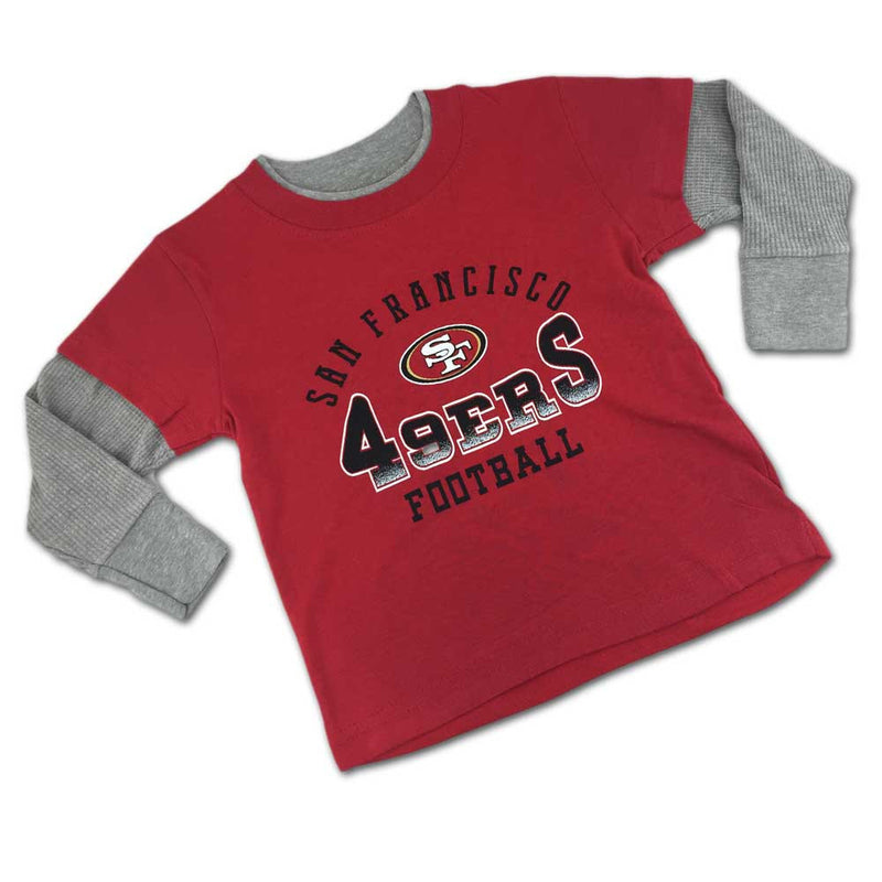 San Francisco 49ers Fan Thermal Layered Tee