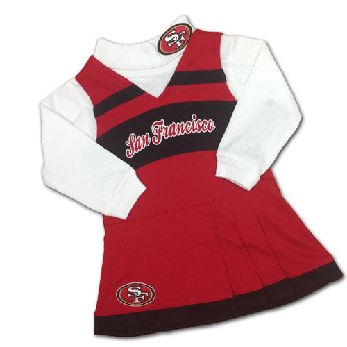 49ers Cheer Jumper Dress