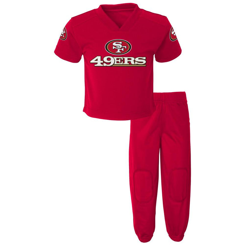 49ers Fan Playtime Outfit