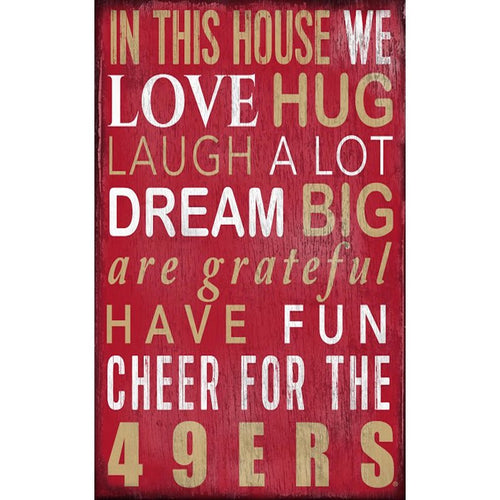 49ers Baby Nursery Wall Art