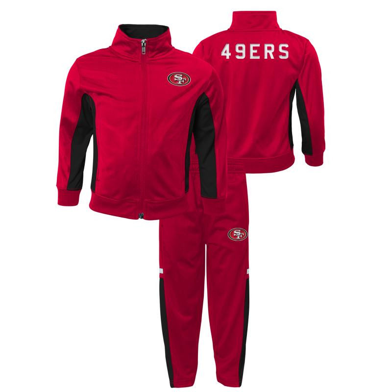 Lil' 49ers Fan Track Suit