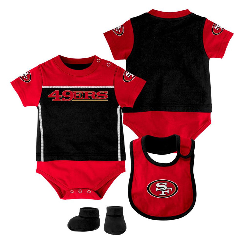 49ers Spirit Baby Outfit