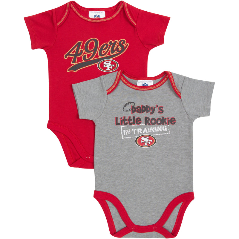 Daddy's Little 49ers Rookie Body Suits