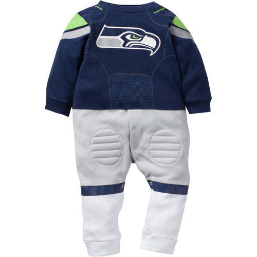 Seattle Seahawks Baby Footysuit