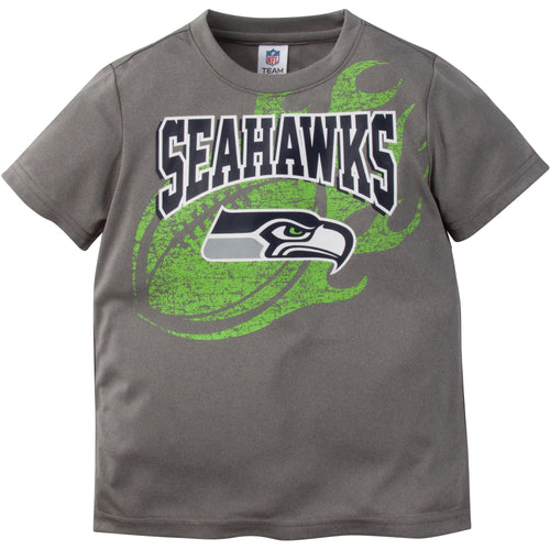 Seattle Seahawks Gray Short Sleeve Tee