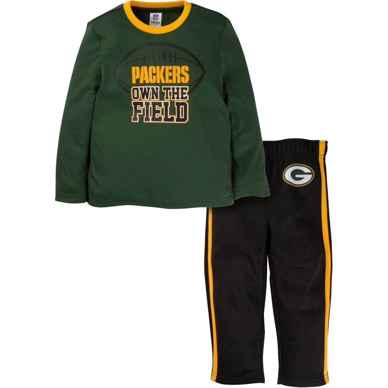 Packers Long Sleeve Shirt and Pants Set (12M-4T)