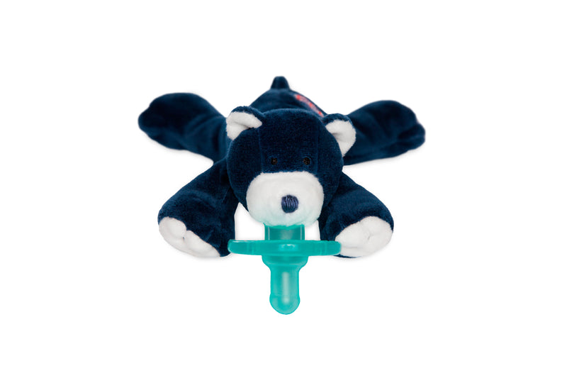 WubbaNub Boston Red Sox Bear Pacifier