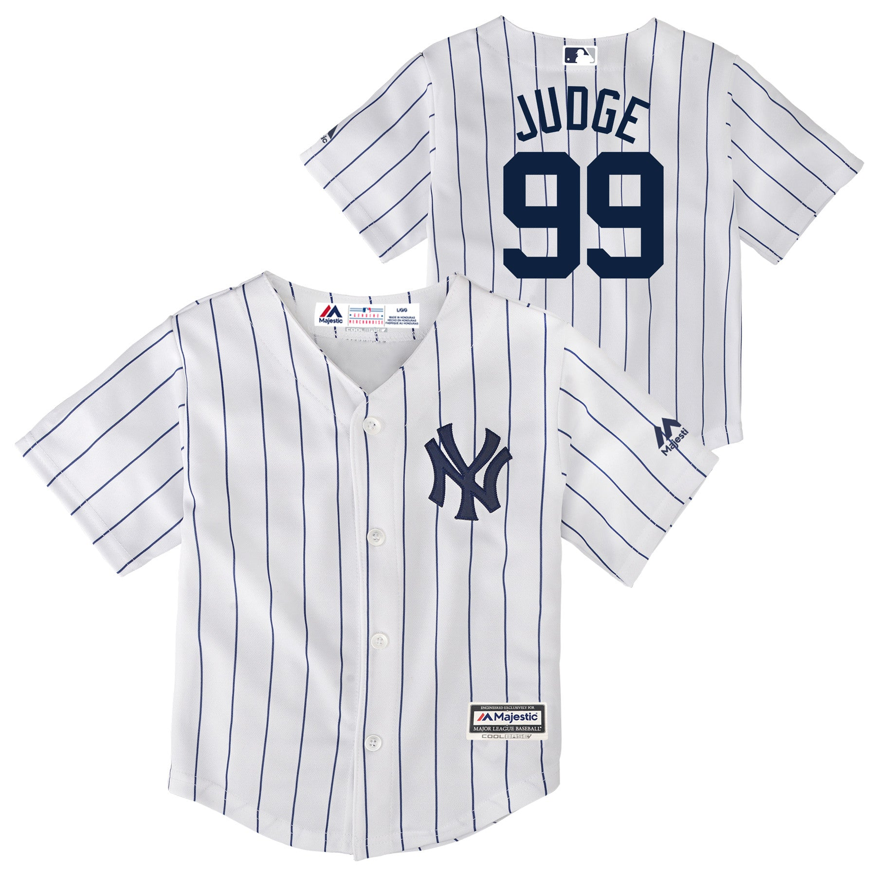 New York Yankees Aaron Judge Authentic Jersey – babyfans 42558d28c8b