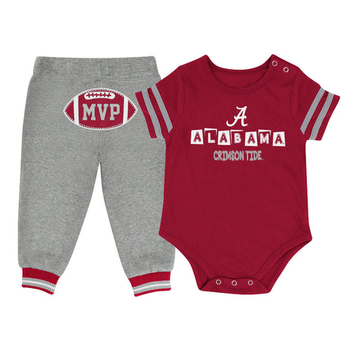 Crimson Tide Baby MVP Outfit