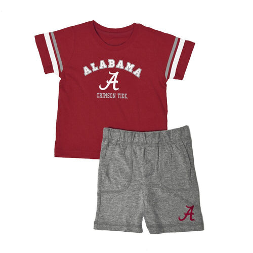 Alabama Knit Tee Shirt and Shorts