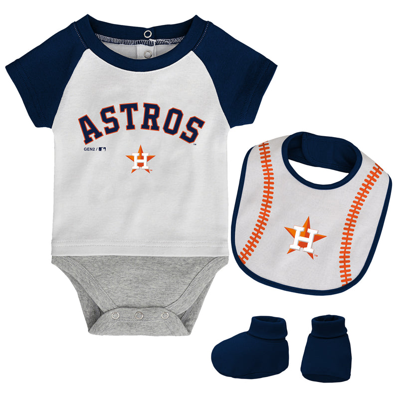 Houston Astros Baby Outfit