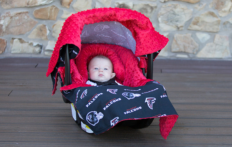 Atlanta Falcons 5 Piece Car Seat Kit