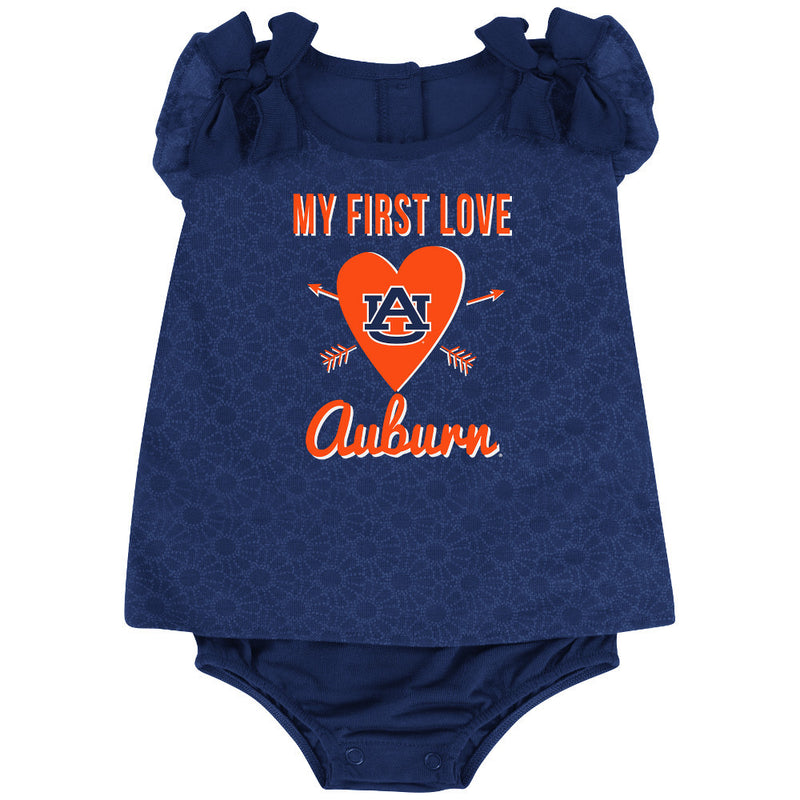 War Eagle Baby Girl My First Love Outfit