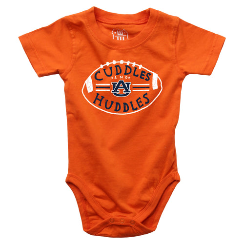 Cuddles and War Eagle Huddles Baby Bodysuit