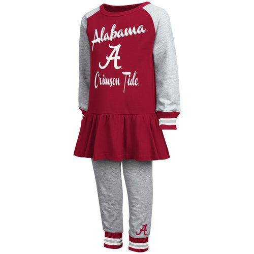 Crimson Tide Girl Team Dress w/ Joggers