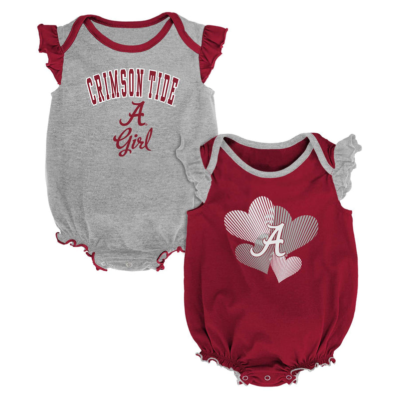 Alabama Ruffled Bodysuit Set