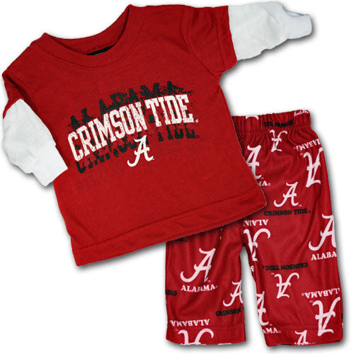 Alabama Layered Tee and Pajama Pants