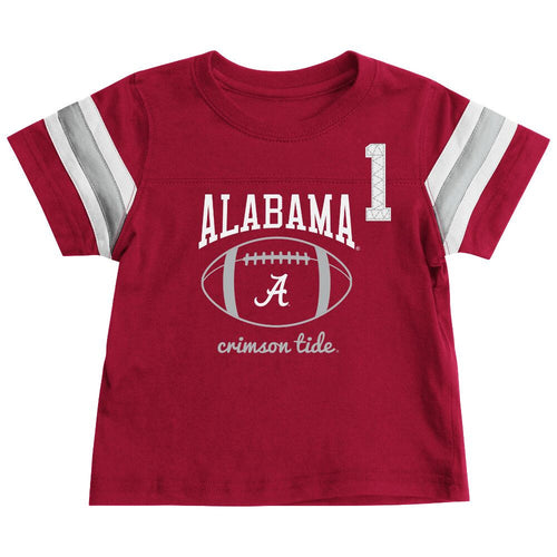 Alabama Crimson Tide Infant Football Tee