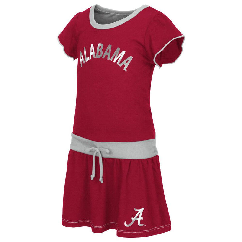 Crimson Tide Tot Tie Front Dress