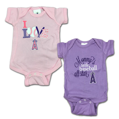 Angels Mommy's Little Baseball Allstar 2-Pack