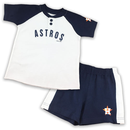 Astros Boy Short Sleeve Shirt and Shorts Set