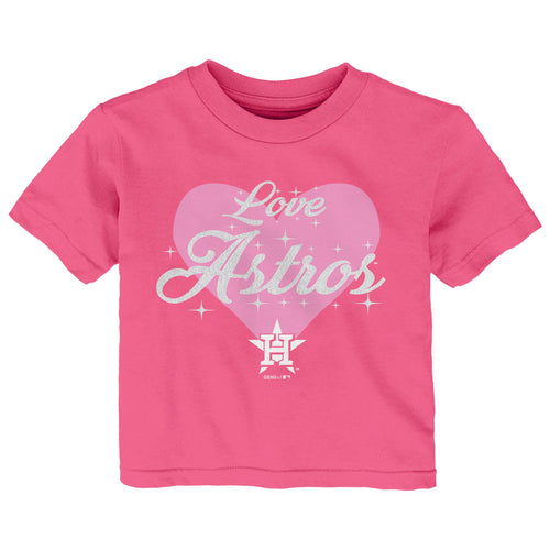 Astros Love Pink T-Shirt