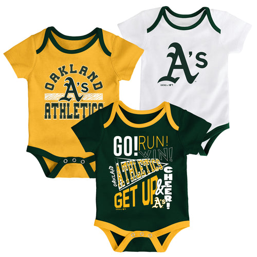 Athletics Get Up and Cheer 3 Pack