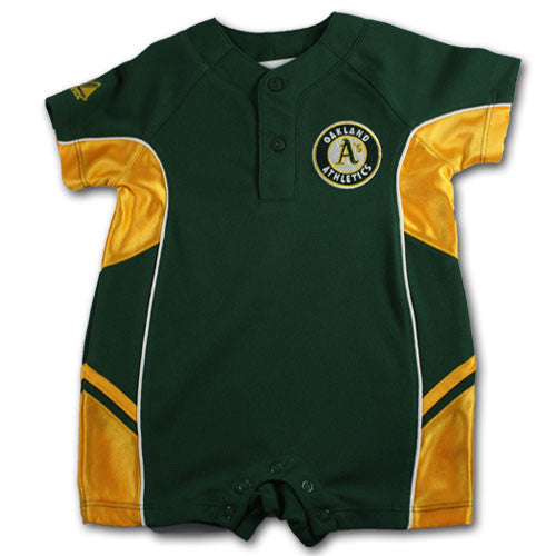 Oakland A's Dazzle Romper (6-9M Only)